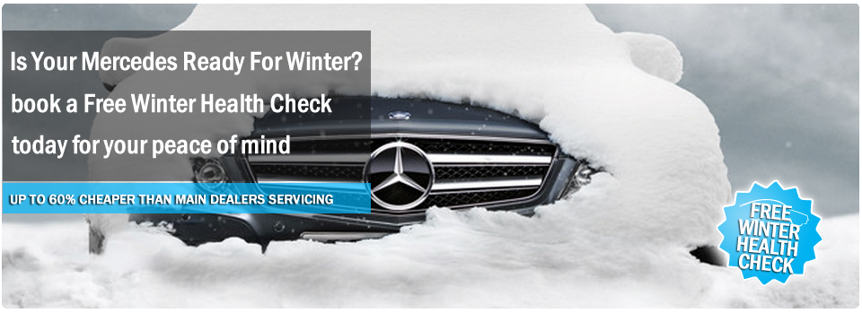 Mercedes Winter Service