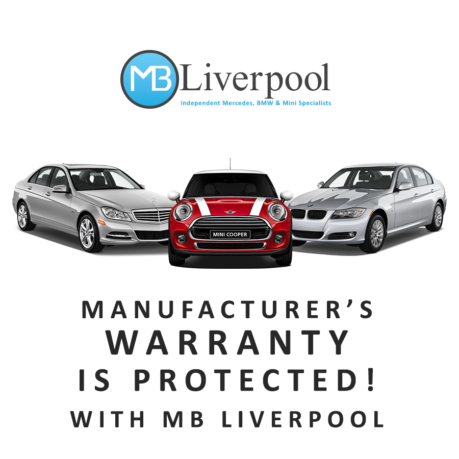 BMW, Mini & Mercedes Manufacturers Warranty Not Affected