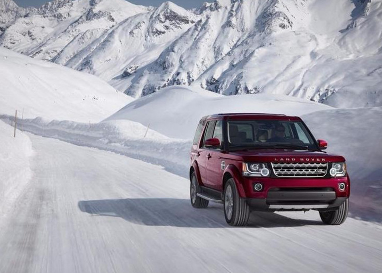 Land Rover Winter Service